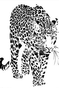 Векторные шаблоны для шкафа купе - Животные